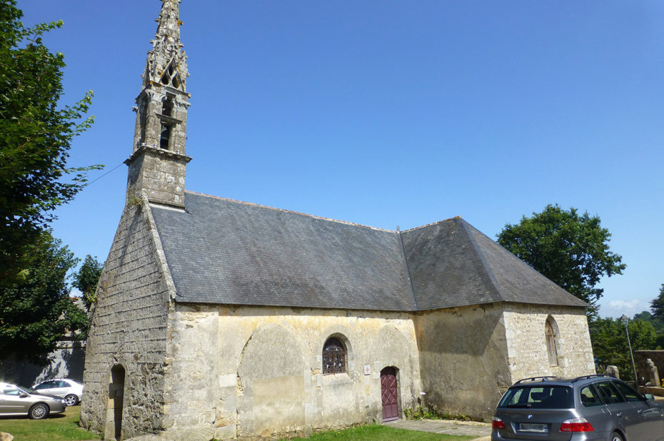 Chapelle dédiée à Saint Jean existait à Tréboul