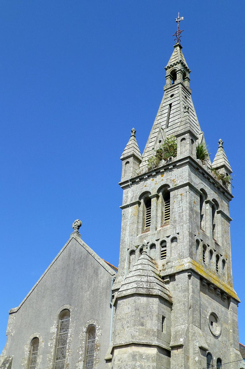 Clocher de l'église du Sacré-Cœur