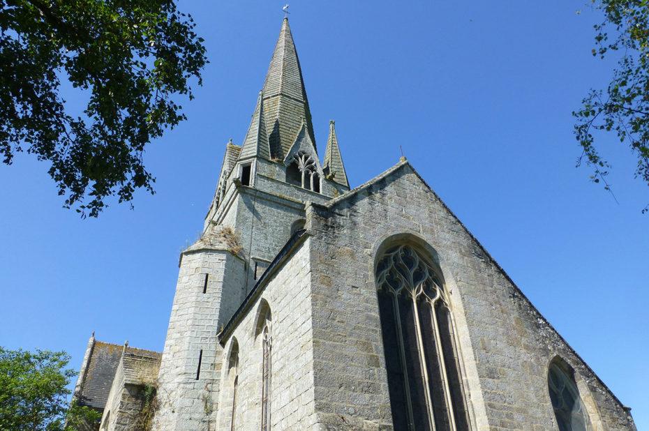 L'église a été construite au XIVe siècle