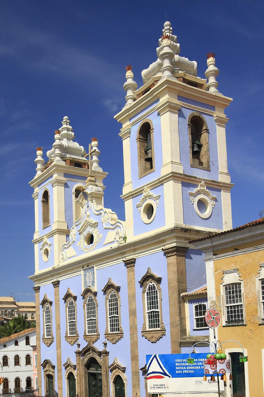 L'église Rosário dos Pretos