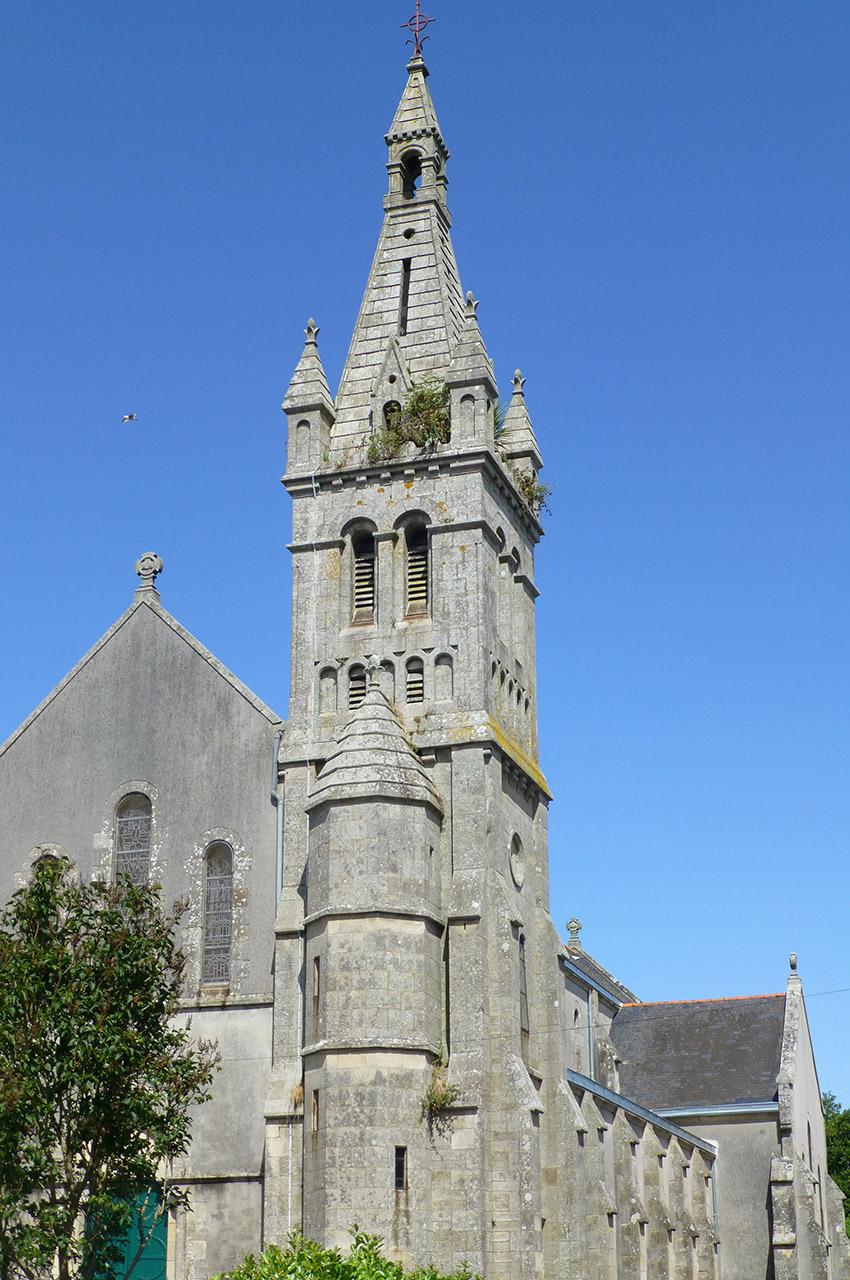 L'église du Sacré-Cœur de Douarnenez