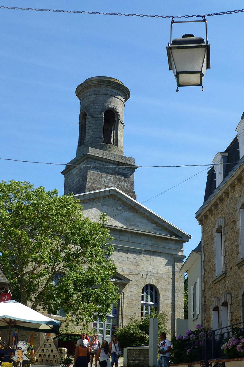Ancienne église Saint-Guénolé du XIIe siècle