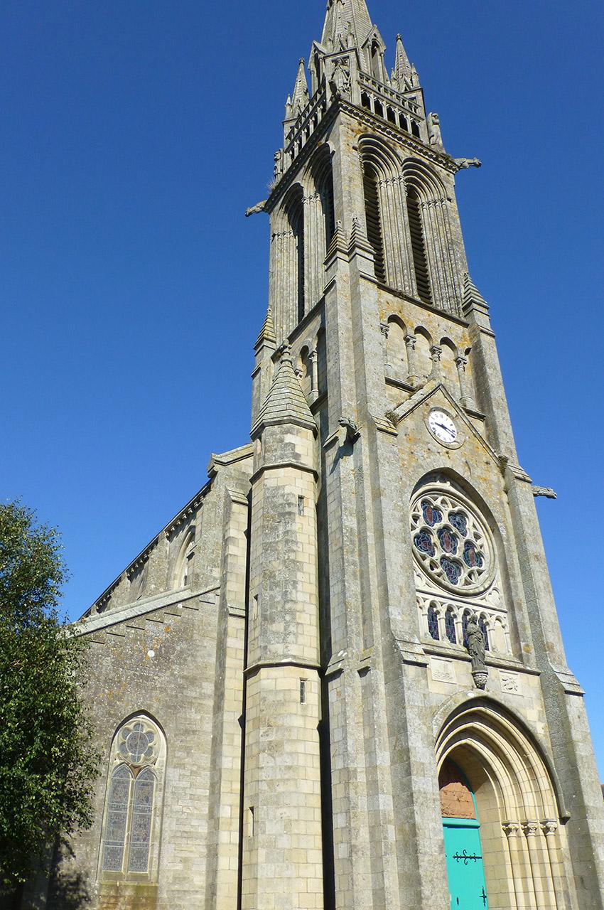 L'église Saint-Herlé de Ploaré
