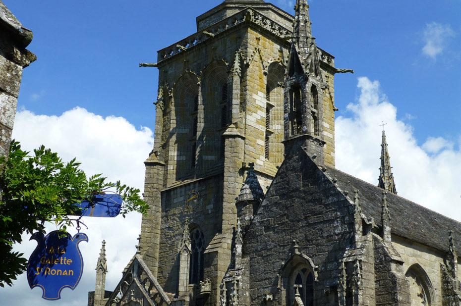 L'église Saint-Ronan de Locronan