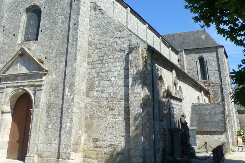 L'église de Fouesnant, de style roman