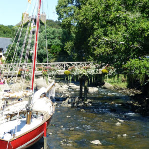Le fleuve côtier Aven à Pont-Aven
