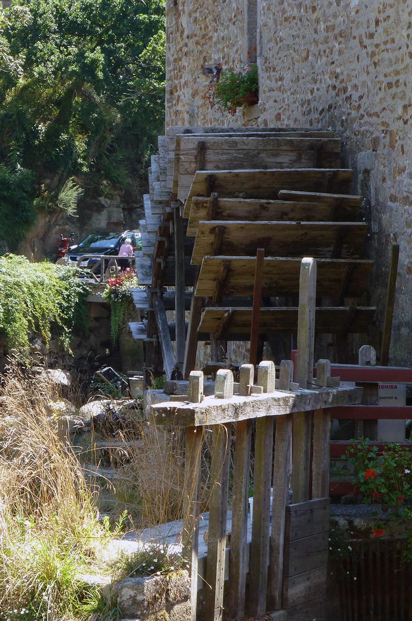 Maison avec un moulin