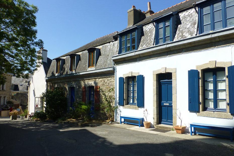 Maisons bretonnes typiques