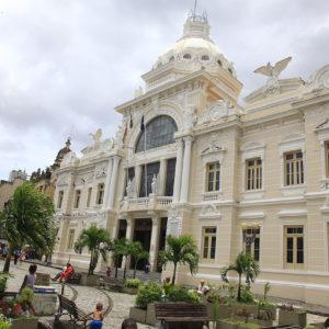 Le palais Rio Branco à Salvador