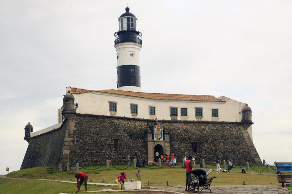 Phare de la Barra, à Salvador
