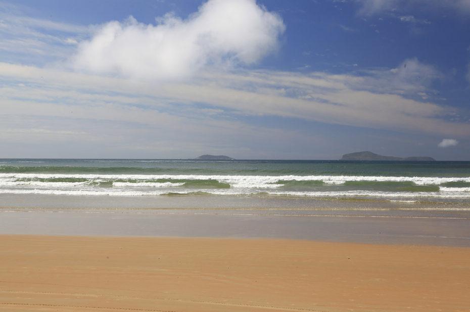 Calme et repos sur cette plage brésilienne