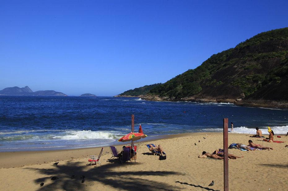 Magnifique plage non loin de Rio