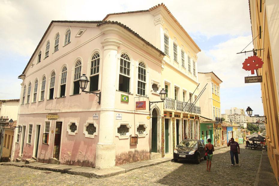 Dans les rues de Salvador de Bahia