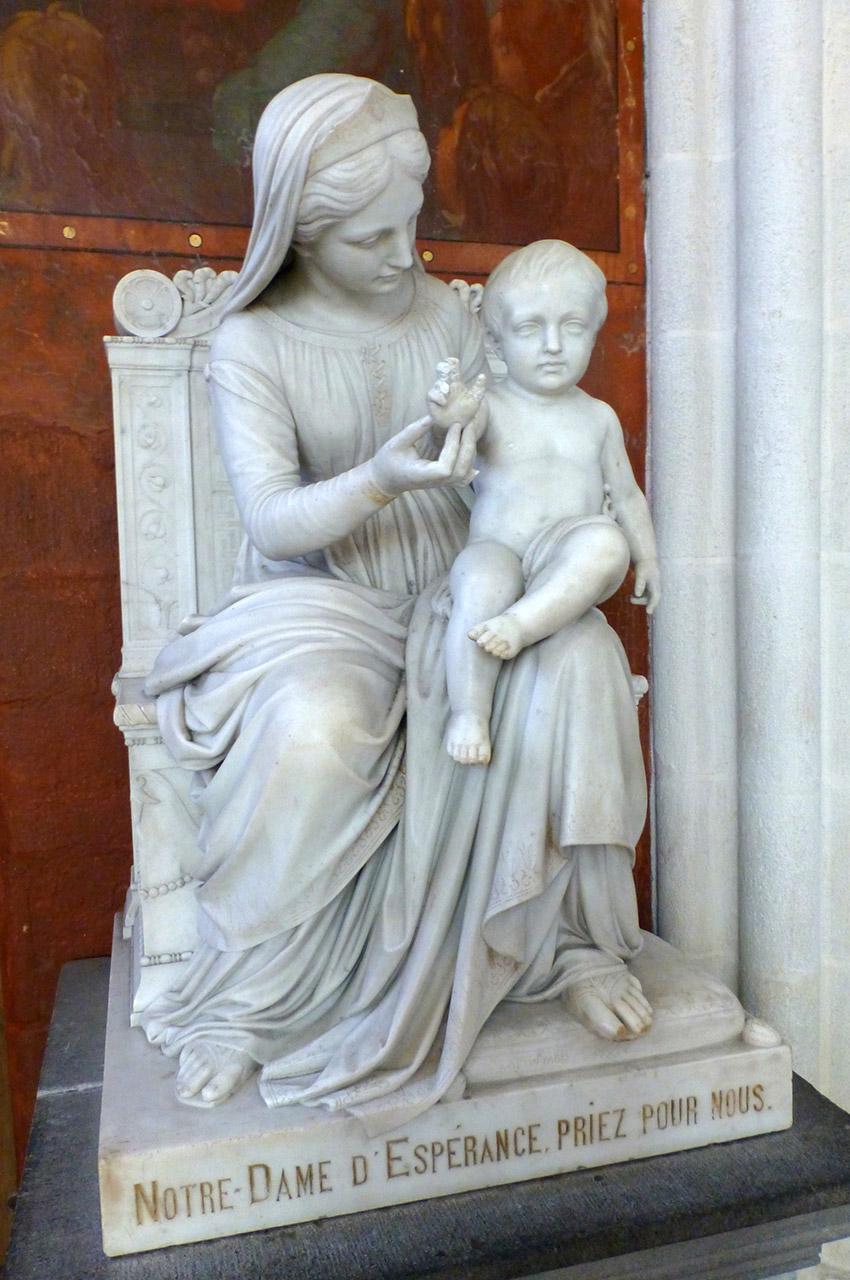 Statue de Notre-Dame d'Espérance