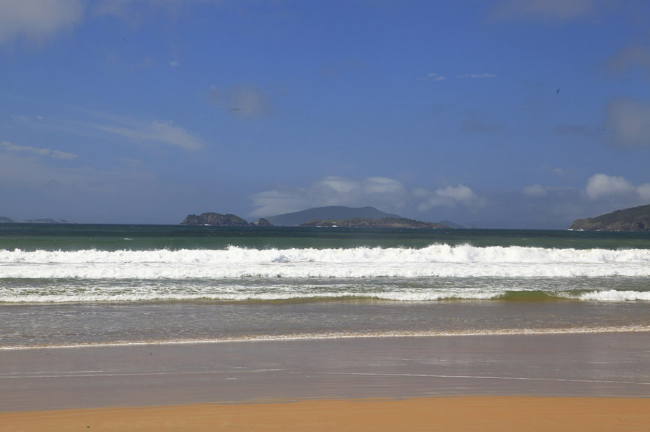 Magnifique plage de sable fin