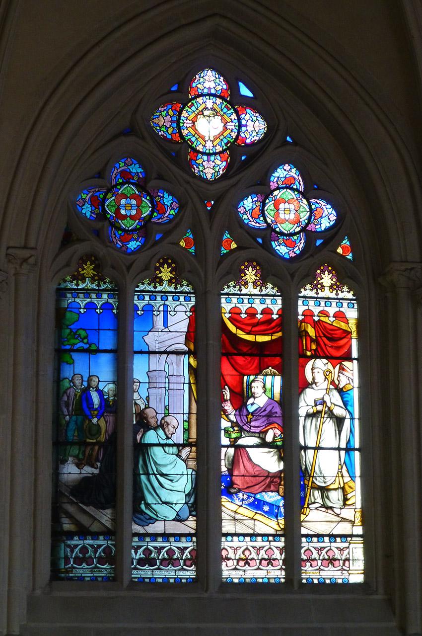 René du Louet bénissant Le Nobletz et Maunoir