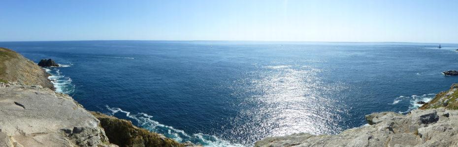 Vue panoramique sur la Pointe du Raz