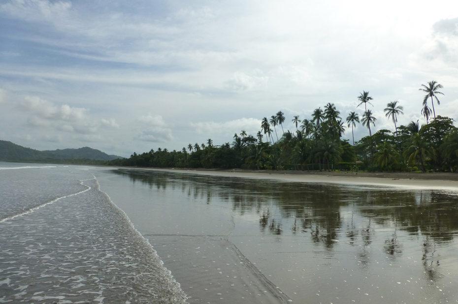 Calme et tranquillité sur la plage de Tambor