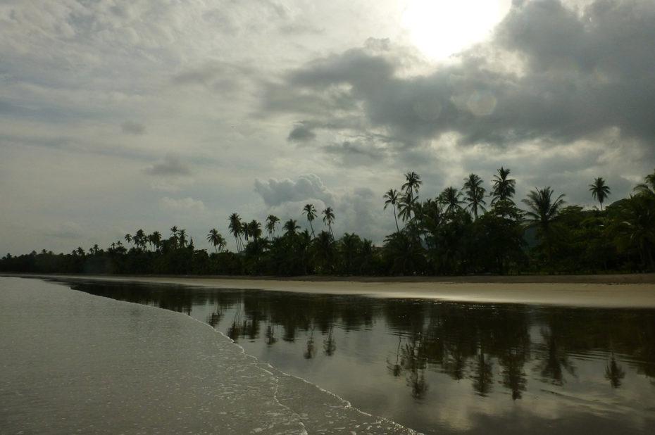 Coucher de soleil sur Playa Tambor