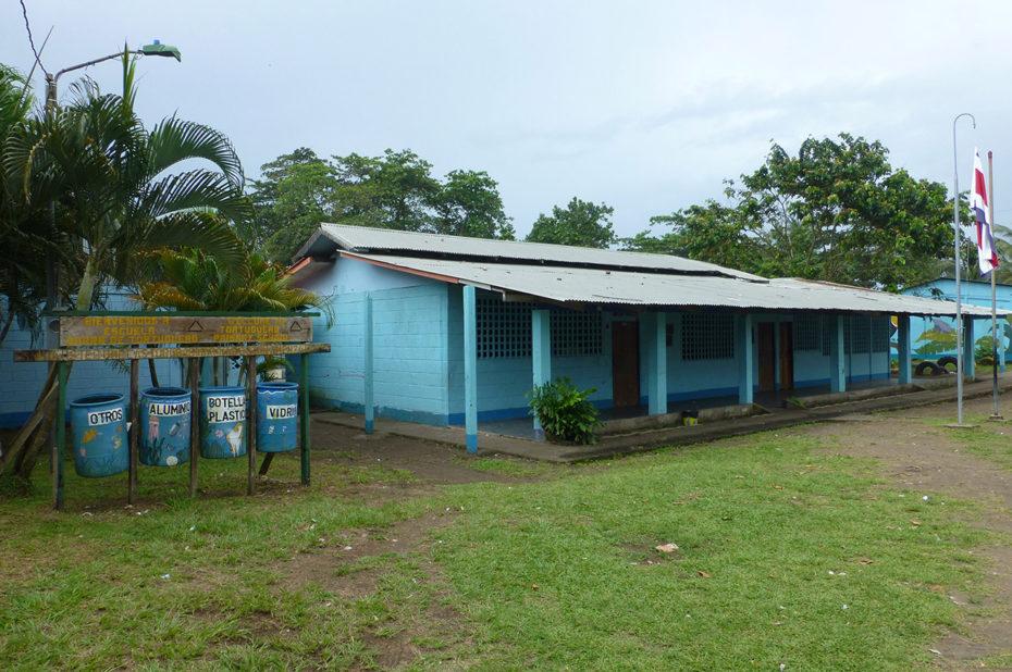 L'école du village de Tortuguero