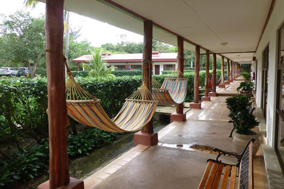 Des hamacs pour se détendre