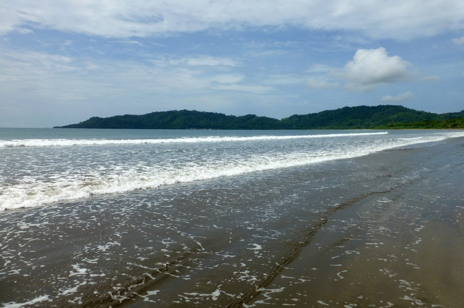 Petite balade sur les 5 km de la playa Tambor