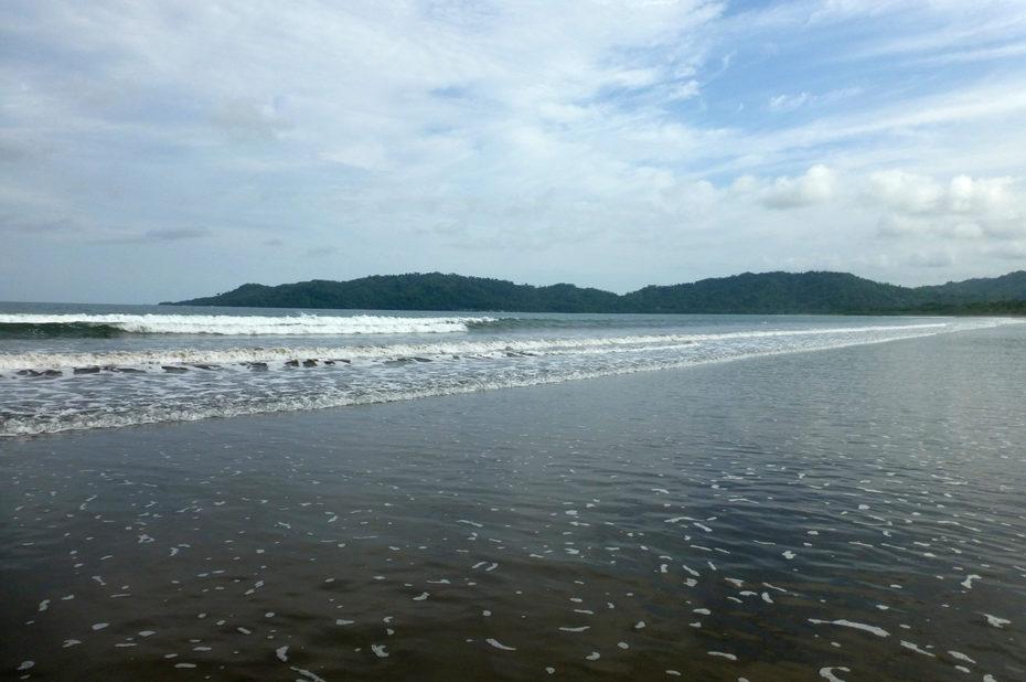 L'océan Pacifique à Tambor
