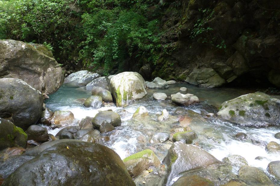 Le rio Colorado à Rincon de la Vieja