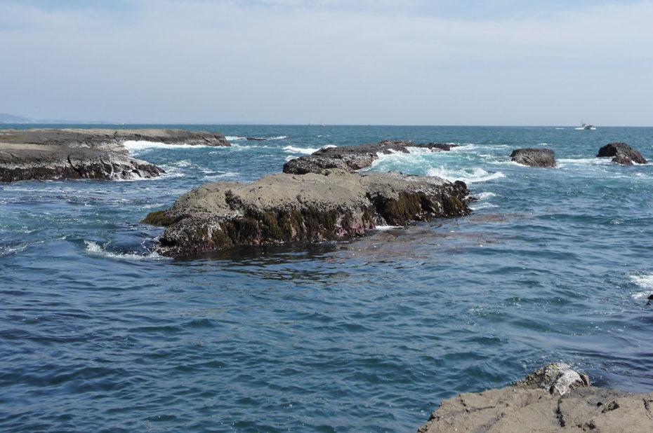 La baie de Sagami depuis l'île d'Enoshima