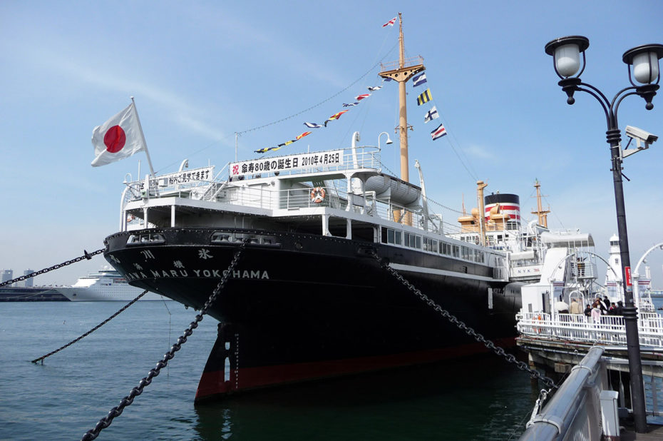 Le Hikawa Maru, symbole du port de Yokohama