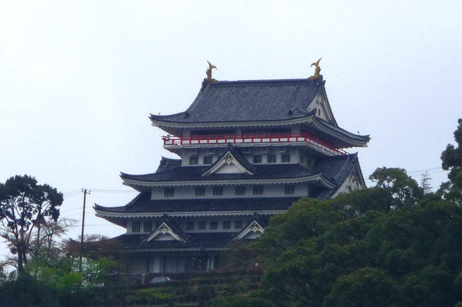 Le château d'Atami a été construit en 1959