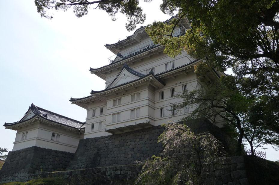 Le château d'Odawara abrite dans son donjon un musée
