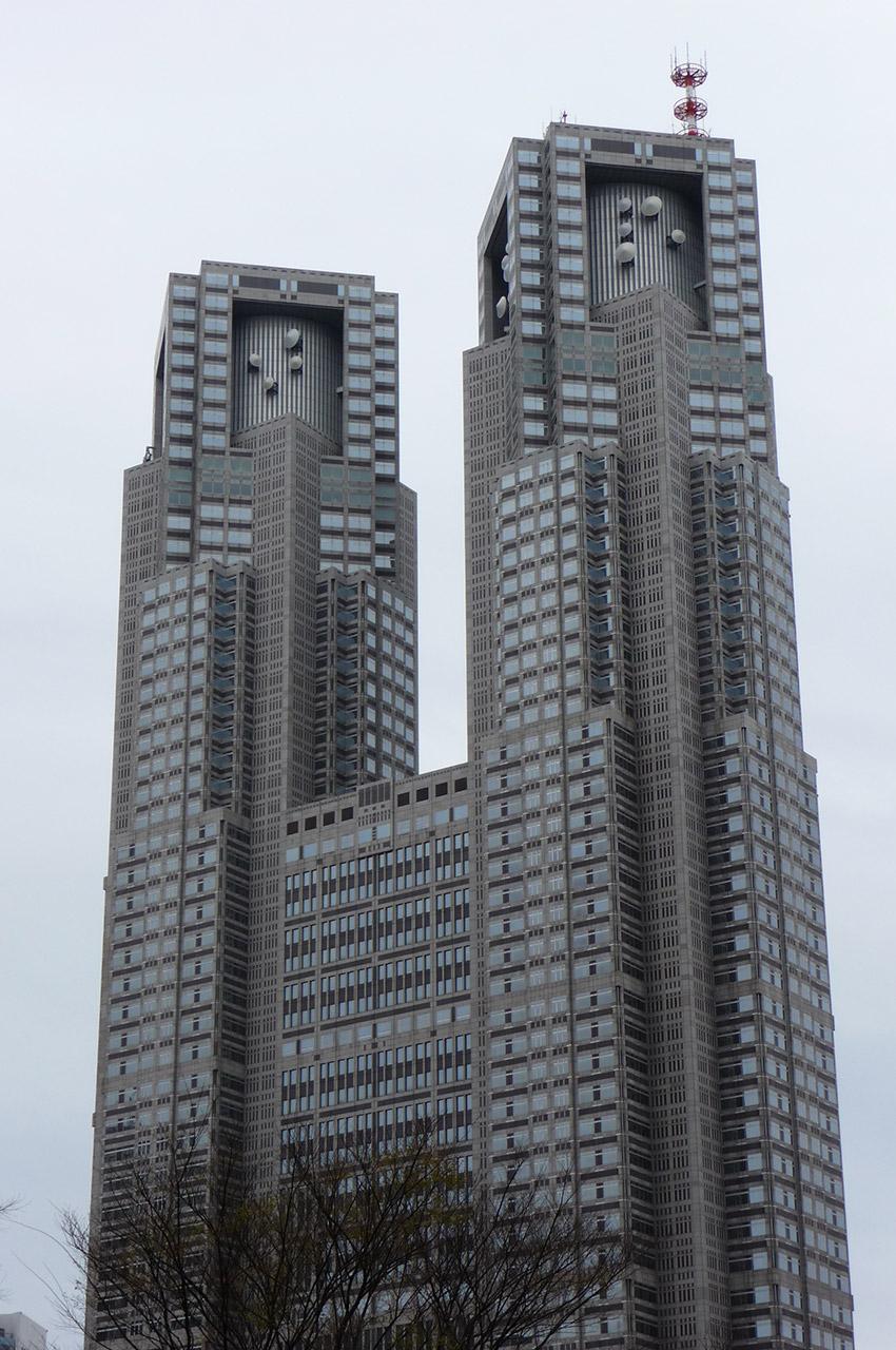 L'hôtel de Ville de Tokyo aura coûté environ 1 milliard d'euros