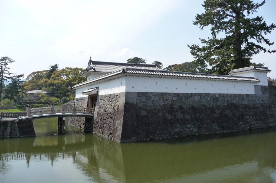 Les douves du château d'Odawara