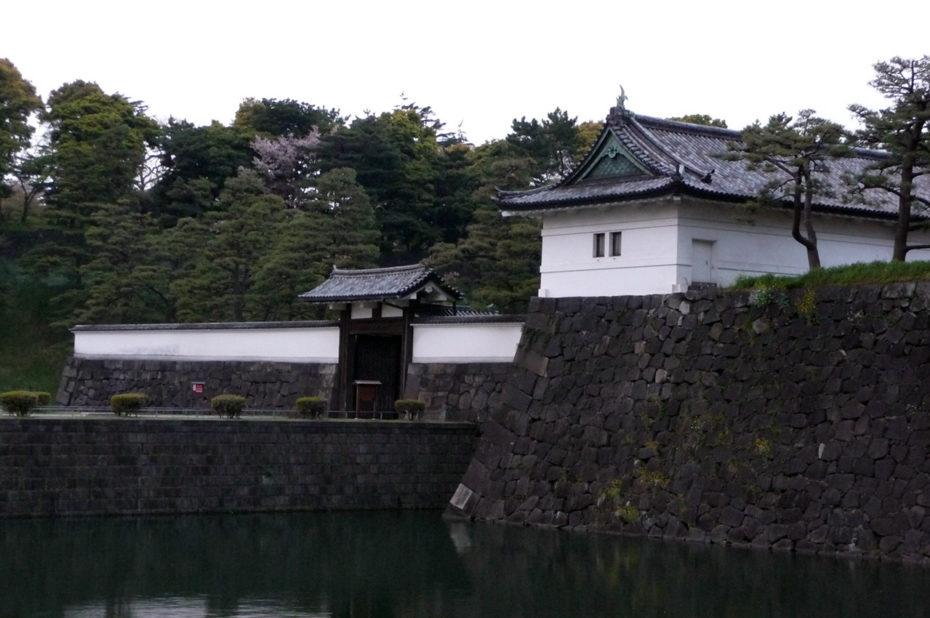Les douves du Palais Impérial de Tokyo