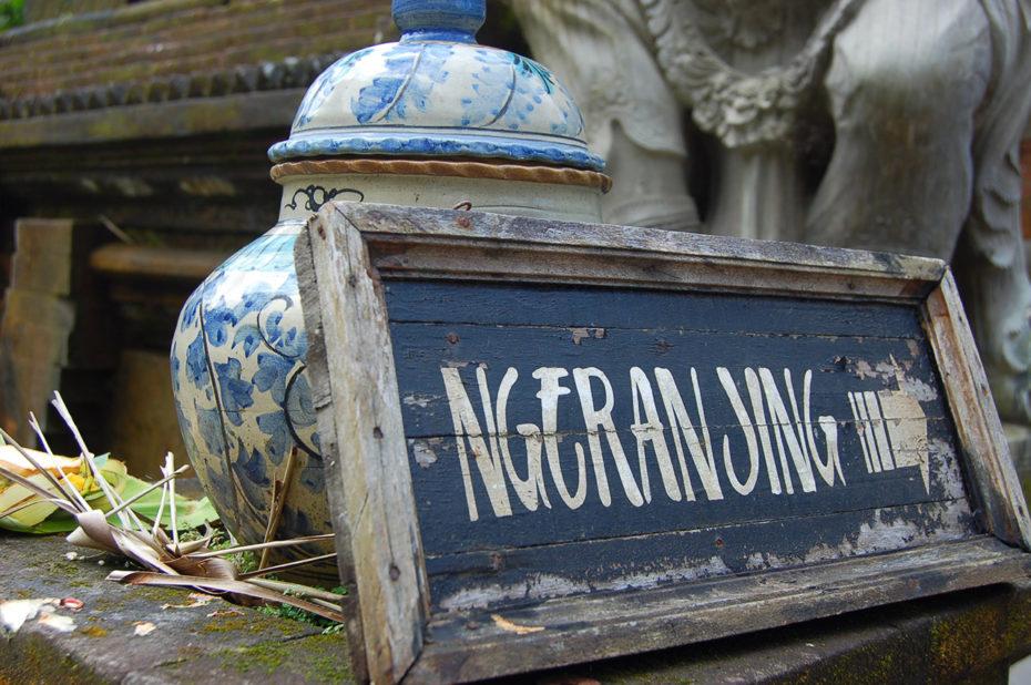 """L'entrée d'un temple """"Ngeranjing"""""""