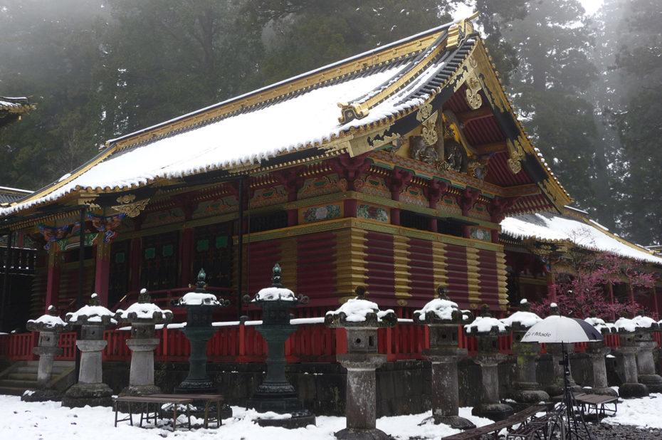 Entrepôt sacré en bois à Nikko