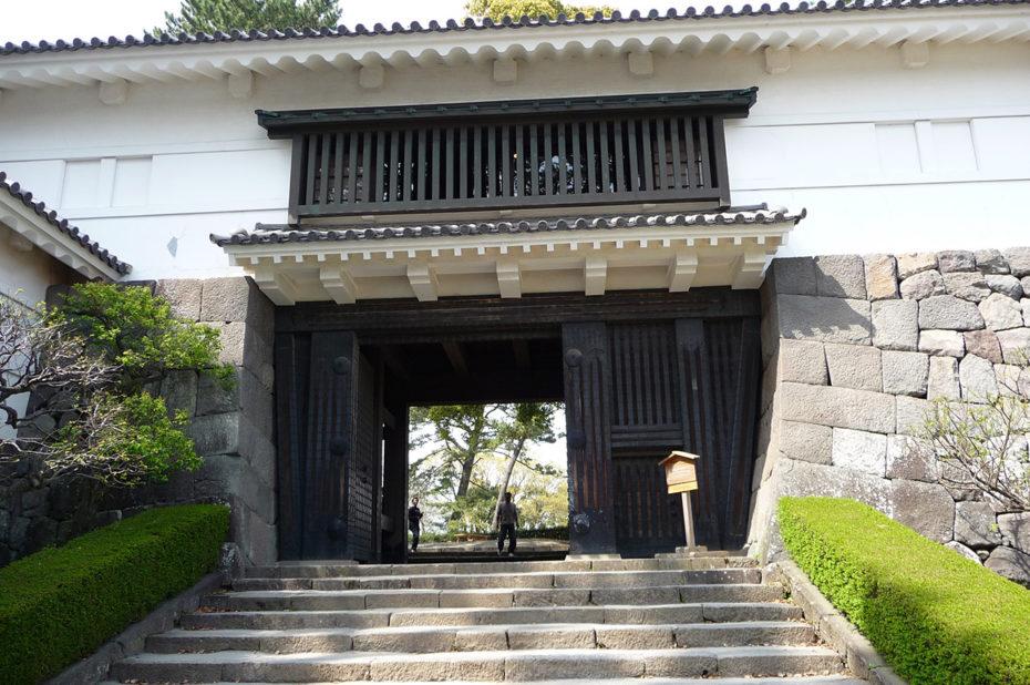 Fortifications du château d'Odawara