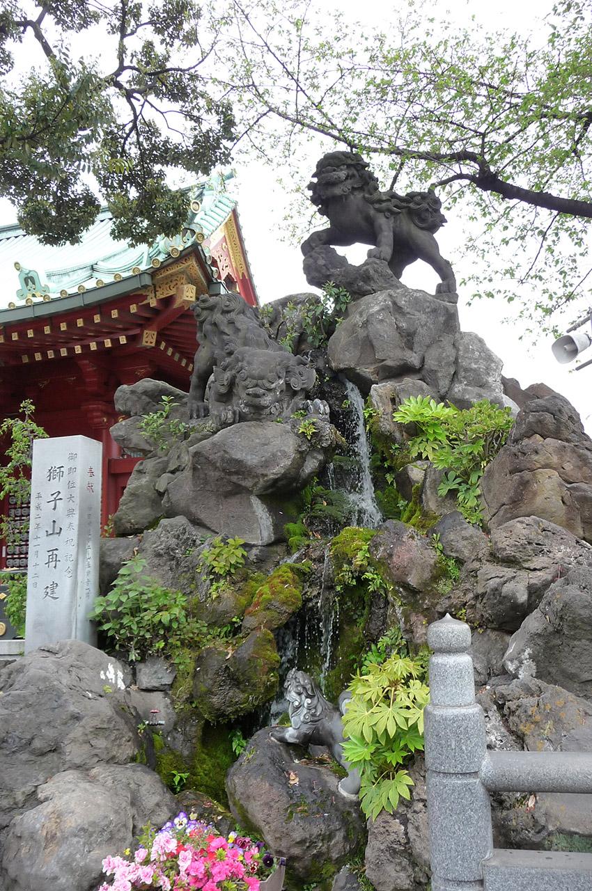 Fontaine du sanctuaire Kanda-myōjin