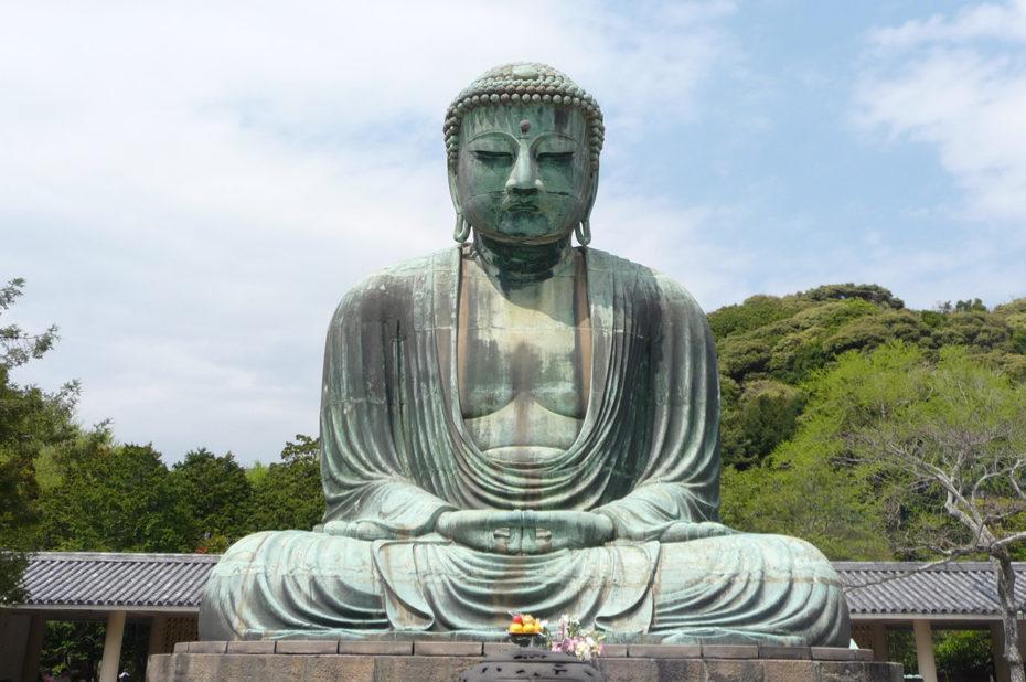 Grand Bouddha de bronze à Kamakura