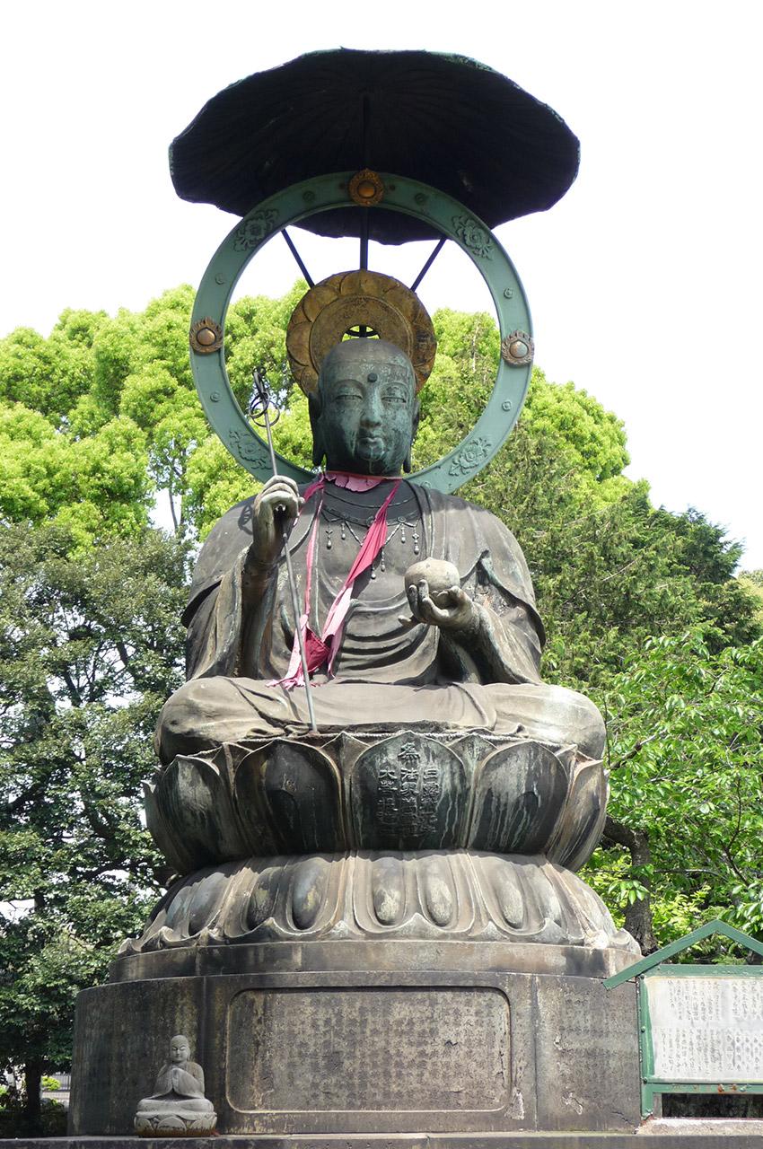 Grand Jizo à Shinagawa