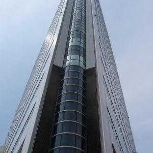 Gratte-ciel dans le quartier Minato Mirai