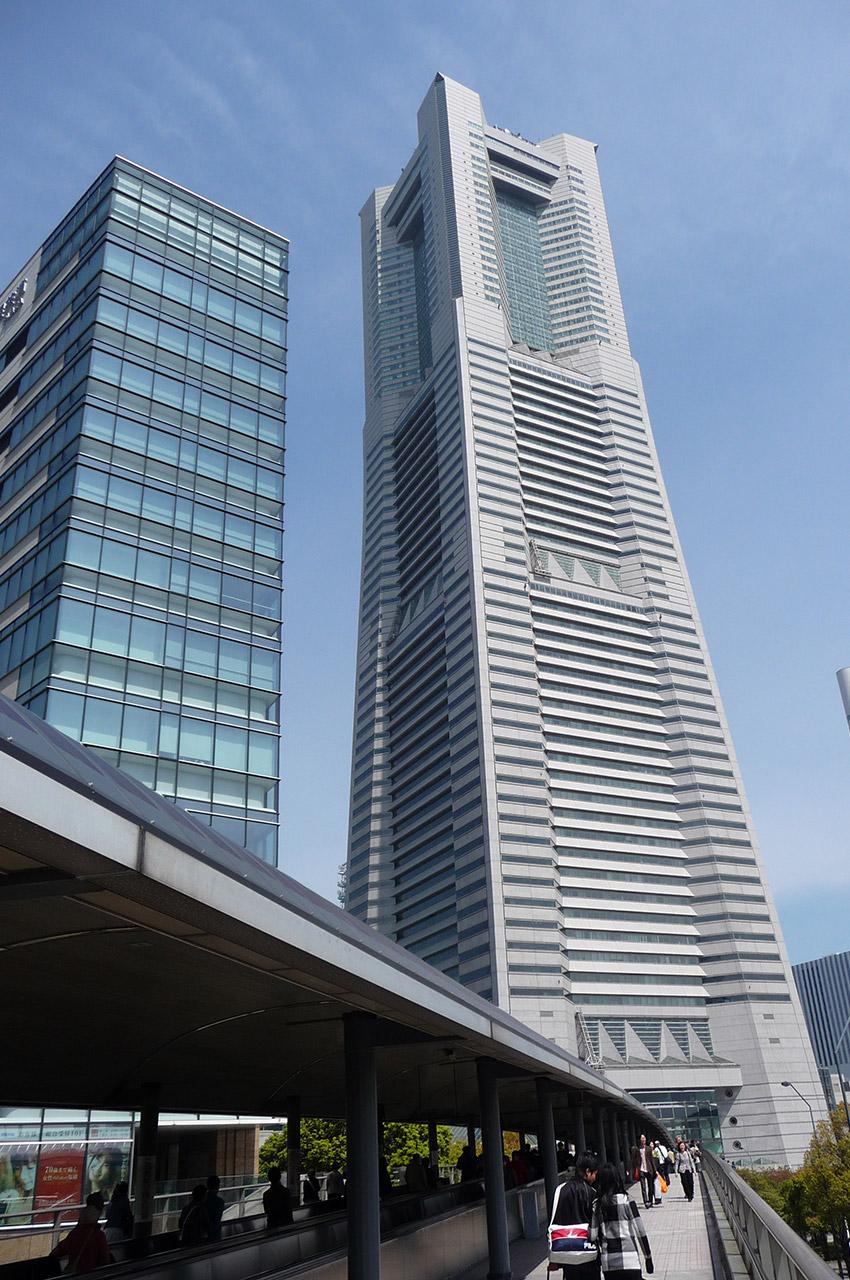 La Yokohama Landmark Tower, gratte-ciel haut de 296 mètres