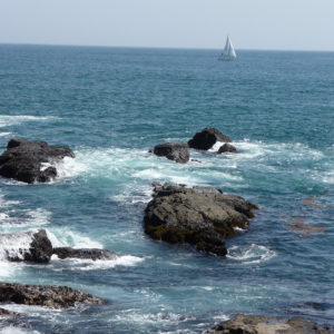 La mer à Enoshima