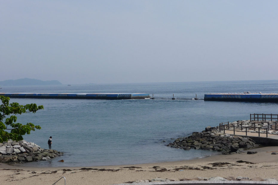 La plage d'Atami est un lieu de détente réputé