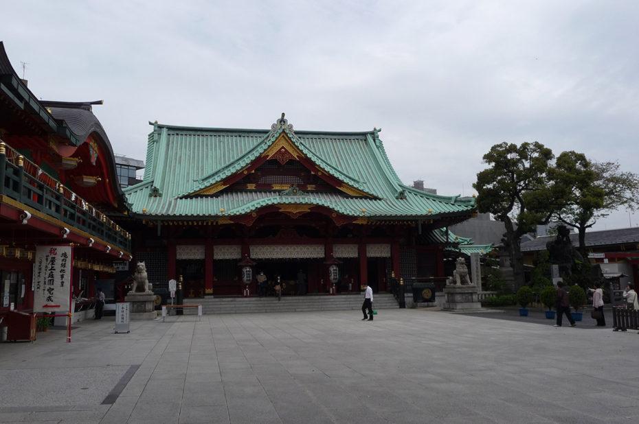 Sanctuaire shinto Kanda-myōjin situé à Chiyoda