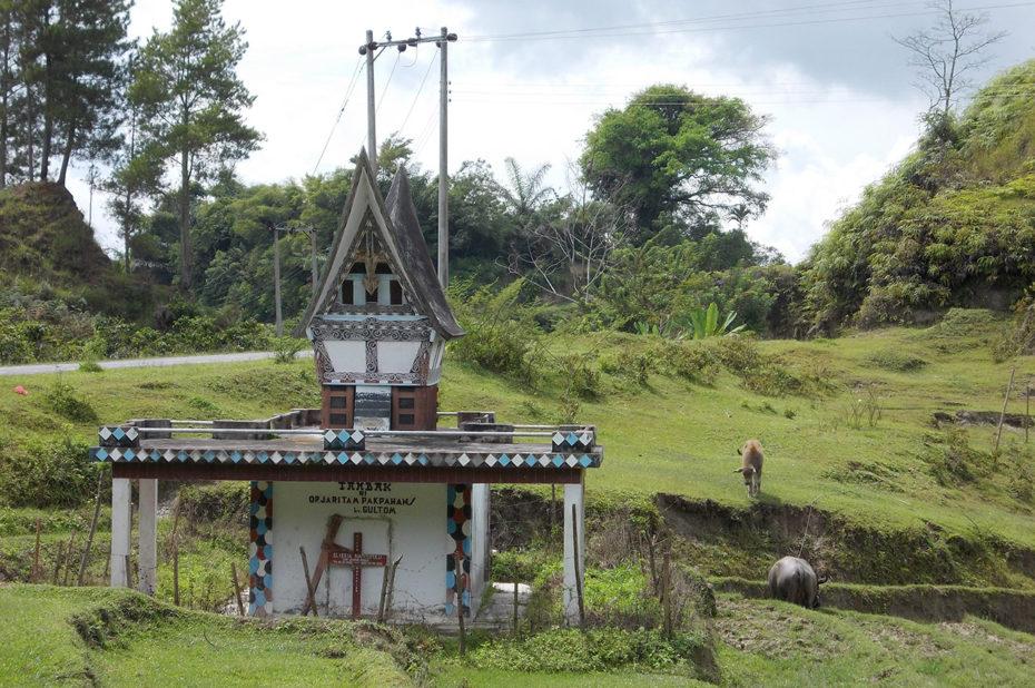 Un autel à Tambak