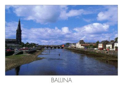 Ballina, dans le comté de Mayo