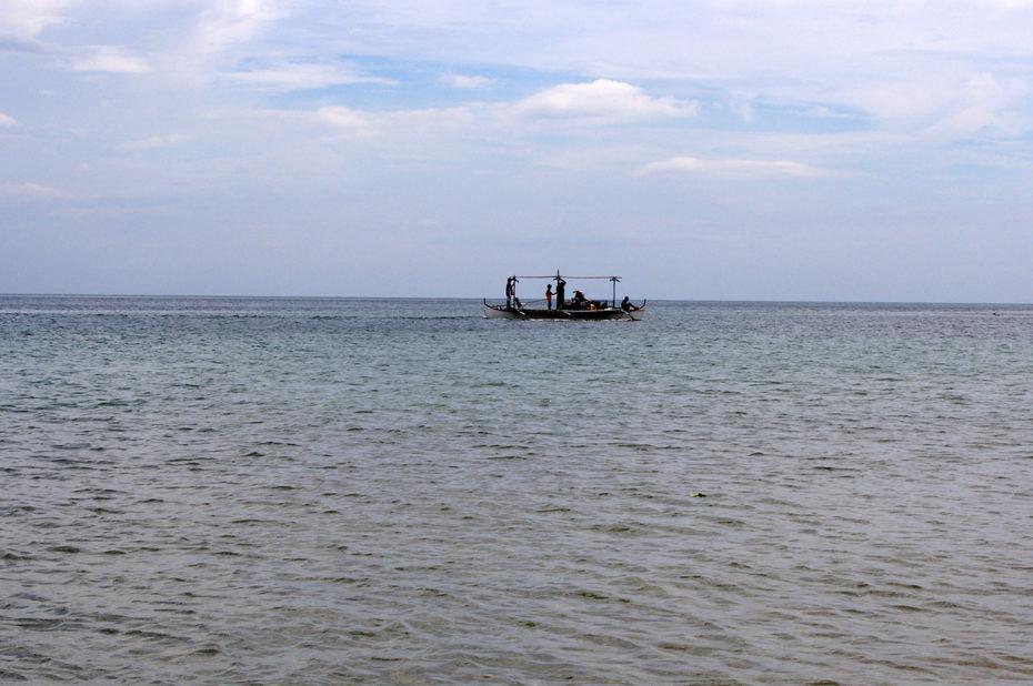 Un bateau sur la mer de Chine du sud