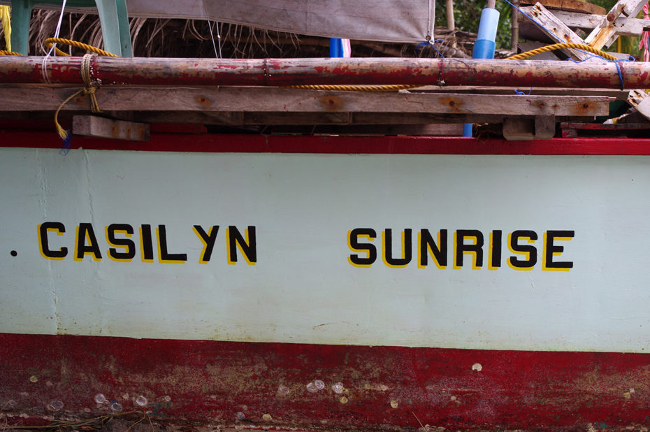 La coque du bateau Casilyn Sunrise